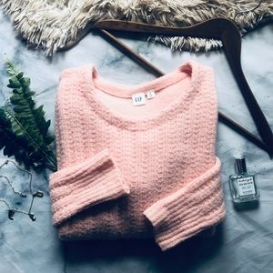 GAP Chunky Creamy Coral Sweater (S)
